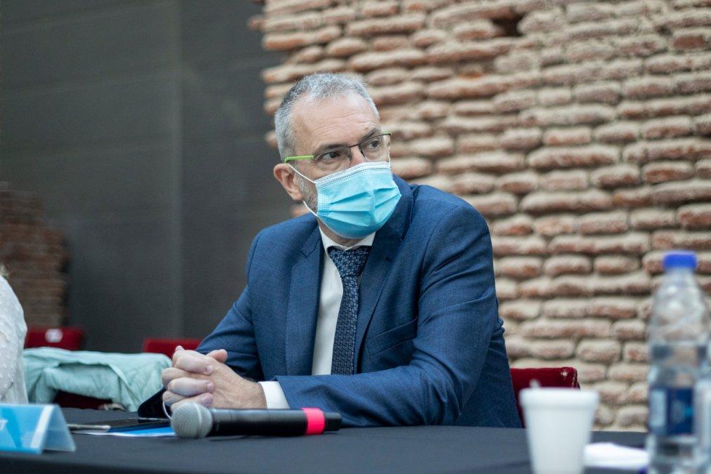 El Ministro de Salud del Chubut