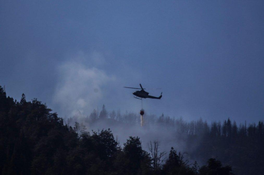 El Gobierno Provincial sigue con los operativos de control del fuego.