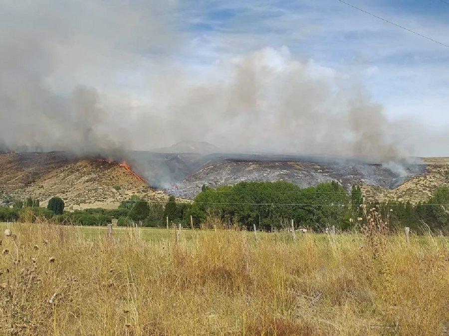 Tormenta eléctrica generó nuevos incendios en Esquel y Trevelin