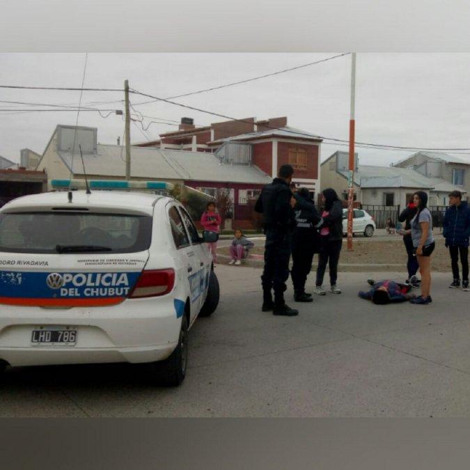 Insólito episodio en Sarmiento
