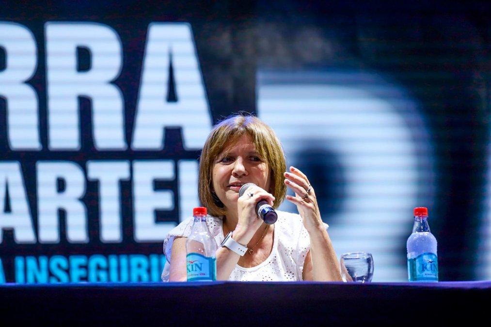 Margarita Barrientos dijo que Patricia Bullrich le pidió presentar su libro en su fundación pero no donó nada.