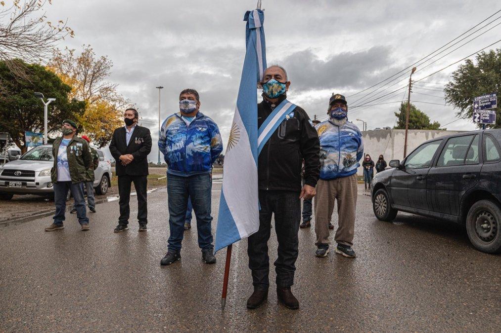 Comodoro Rivadavia: Vecinos homenajearon a los héroes de Malvinas