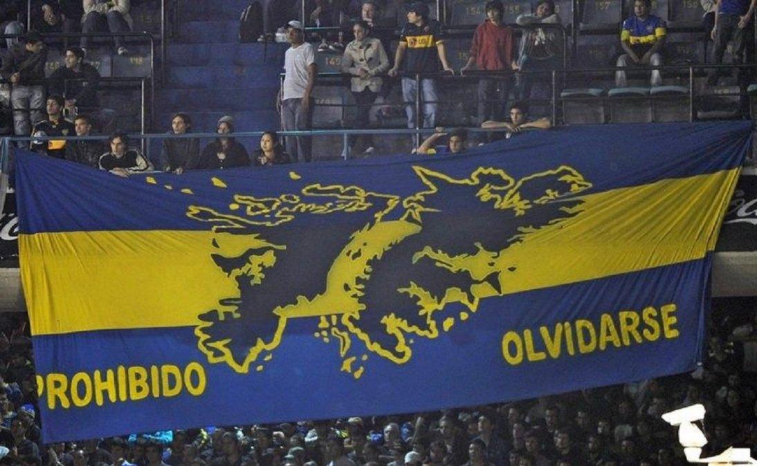 Los clubes argentinos recuerdan Malvinas