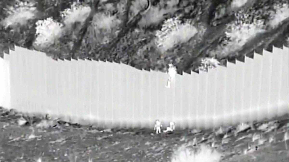 El video fue difundido porla Oficina de Aduanas y Protección Fronteriza.