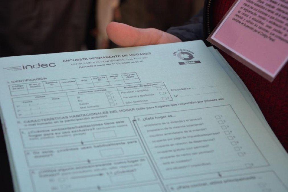 Comienza la Encuesta Permanente de Hogares correspondiente al segundo trimestre
