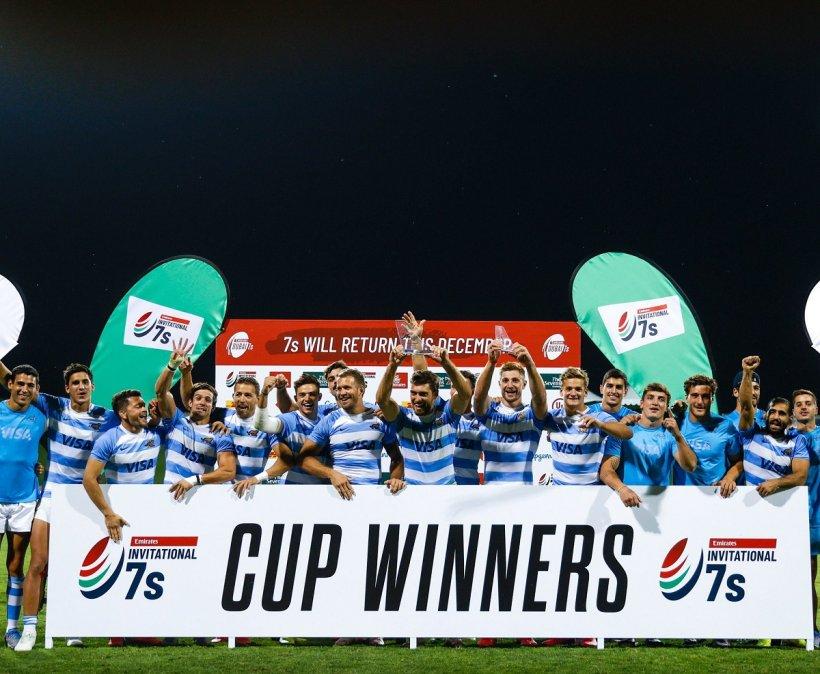 Los Pumas 7s ganaron el Seven de Dubai al superar en la final a Francia.