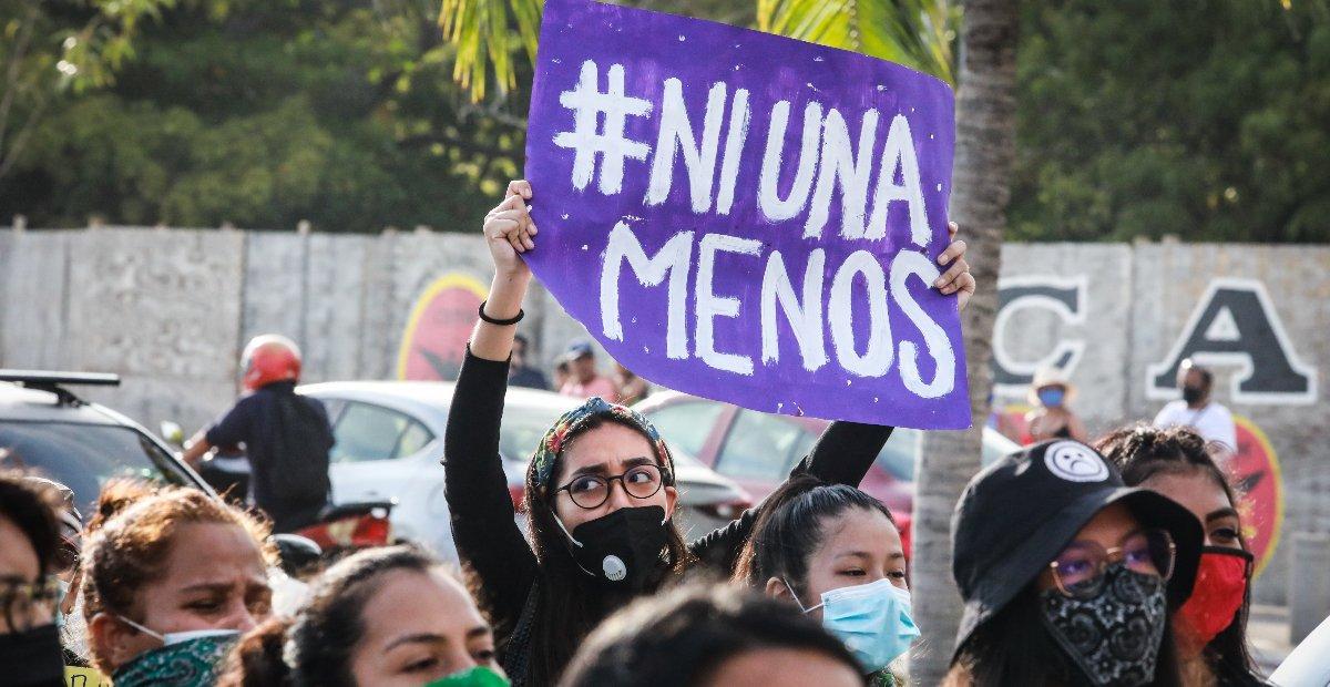 En lo que va del 2021 ya hubieron 97 femicidios. Foto: EFE