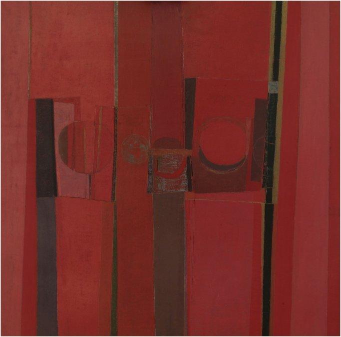 Pintura (en rojos) - Sarah Grilo 1958