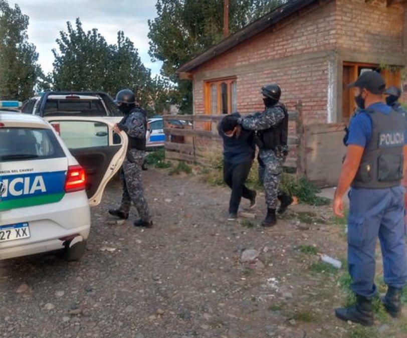 Detuvieron al principal sospechoso del asesinato de pascuas en Trevelin.