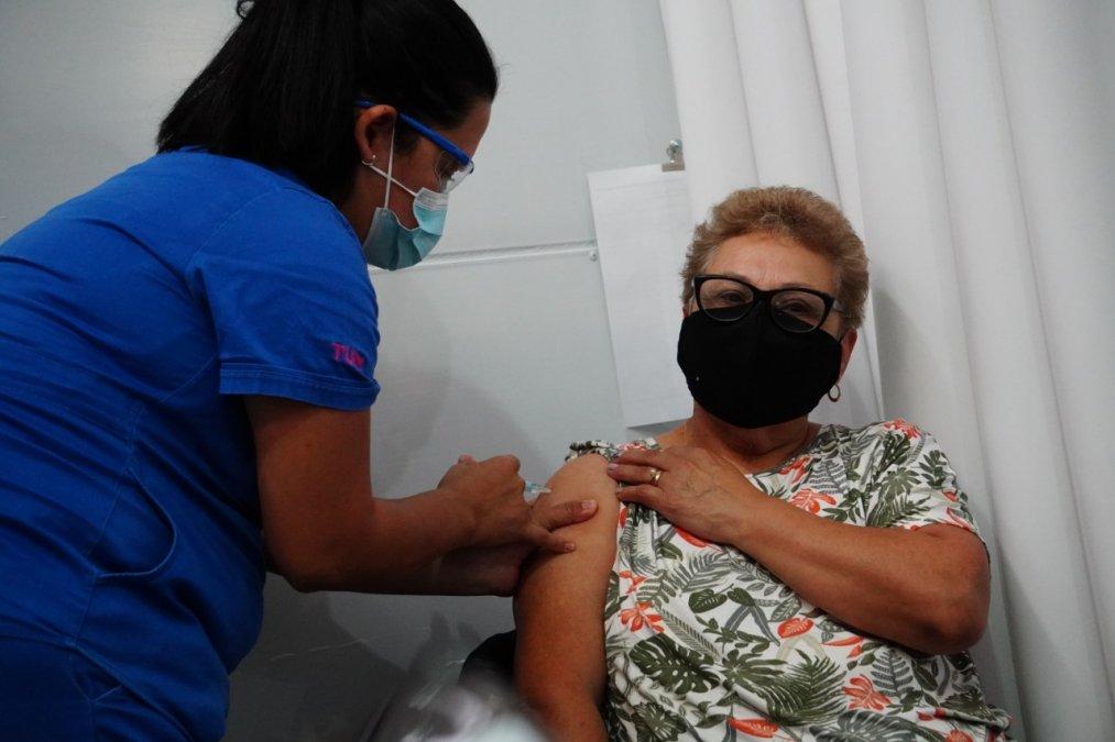 Se retomó la vacunación a los mayores de 60 años