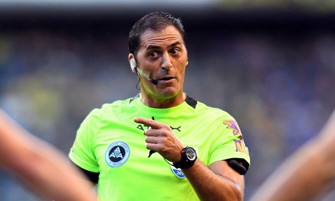 Mauro Vigliano será el árbitro del clásico de Avellaneda.