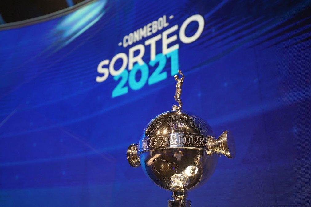 Se sorteó la Fase de Grupos de la Copa Libertadores 2021.