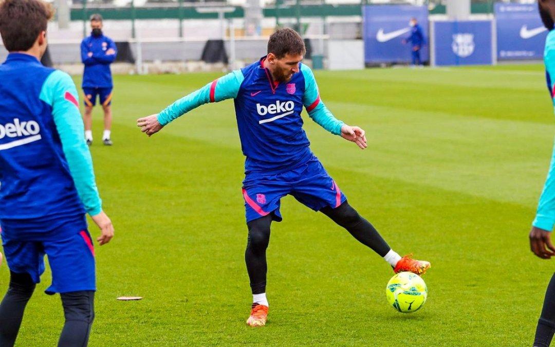 Messi jugará su clásico número 45.