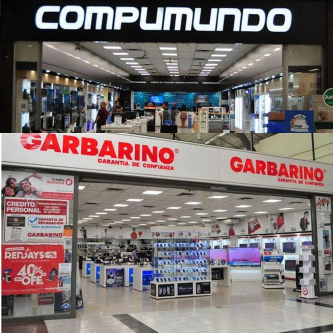 Empleados de Garbarino y Compumundo denuncian reducciones salariales el no deposito de los aportes jubilatorios y falta de pago de la ART.