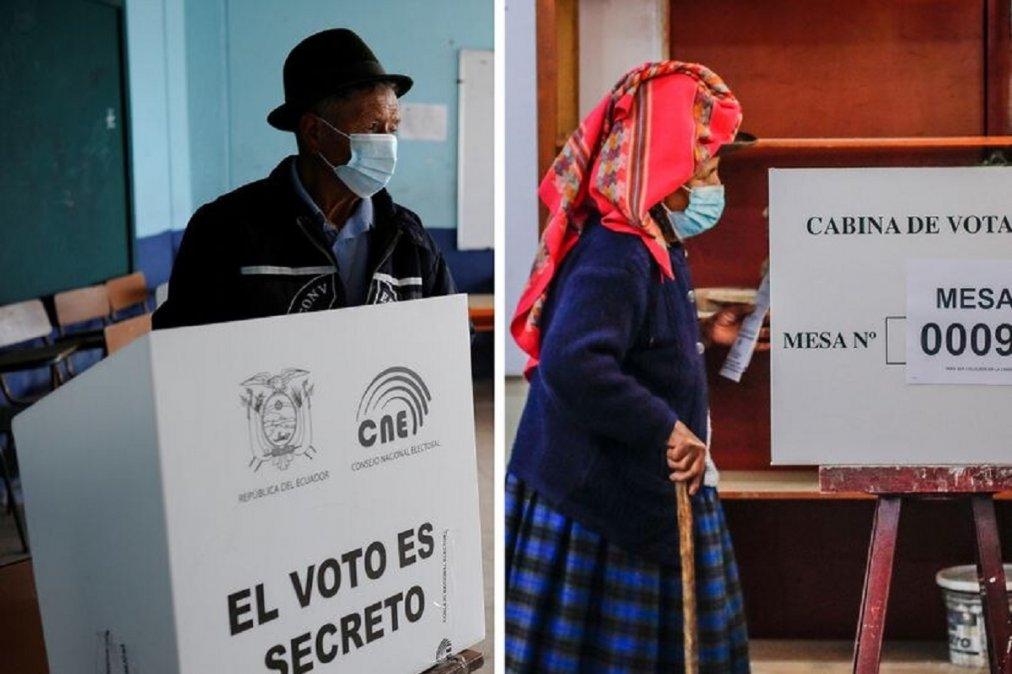 Perú y Ecuador eligen a su futuro presidente. Foto: Reuters
