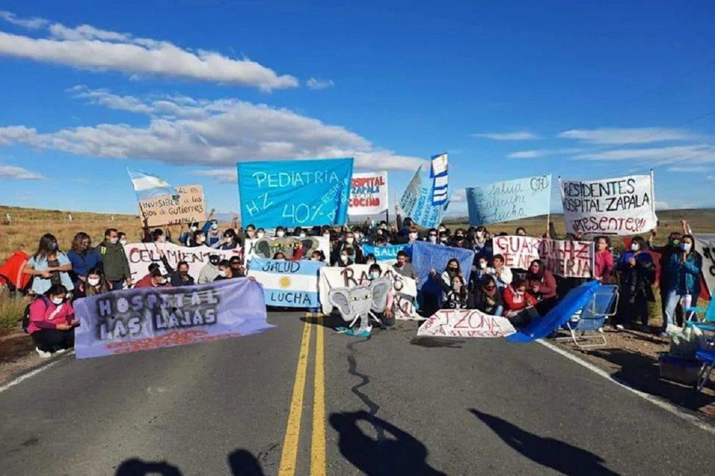 Continúa el conflicto con los trabajadores de la Salud en Neuquén.