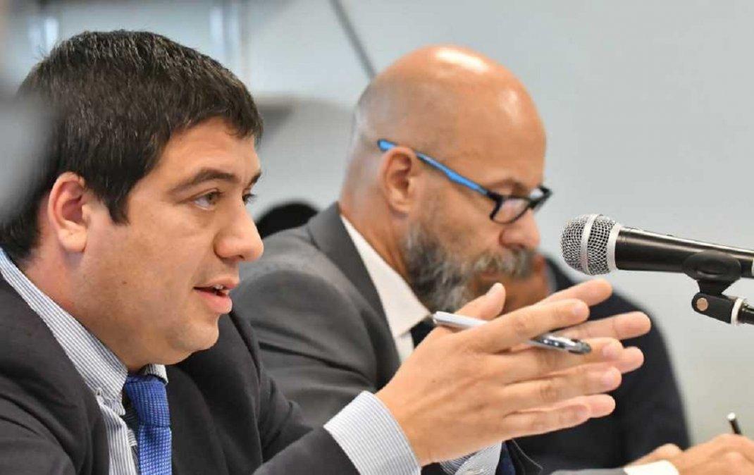 Los fiscales se opusieron al pedido de suspensión del juicio de la denominada causa Emergencia Climática. Foto: Área Comunicación Institucional del Ministerio Público Fiscal del Chubut. Oficina Rawson.