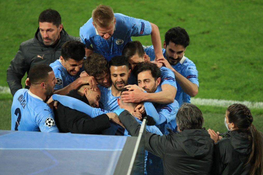 Manchester City y Real Madrid los otros dos finalistas de la Champions League.