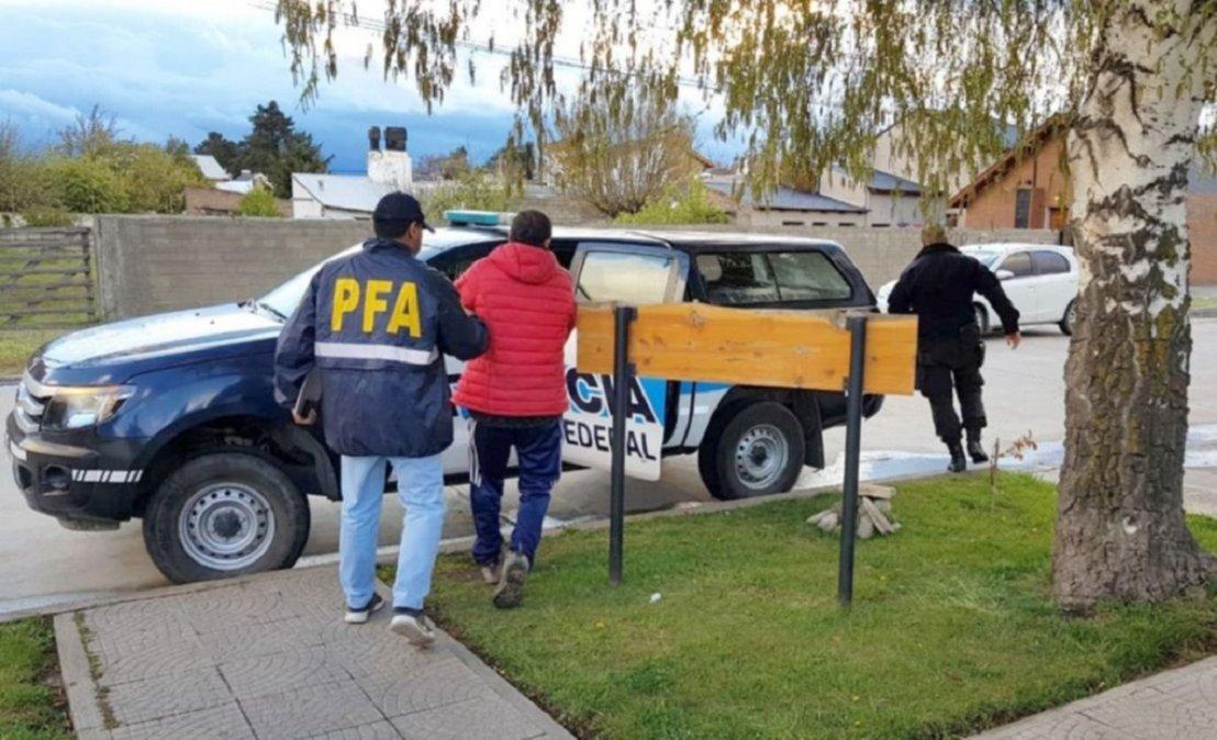 Secuestraron más de dos kilos y medio de cocaína en Esquel.
