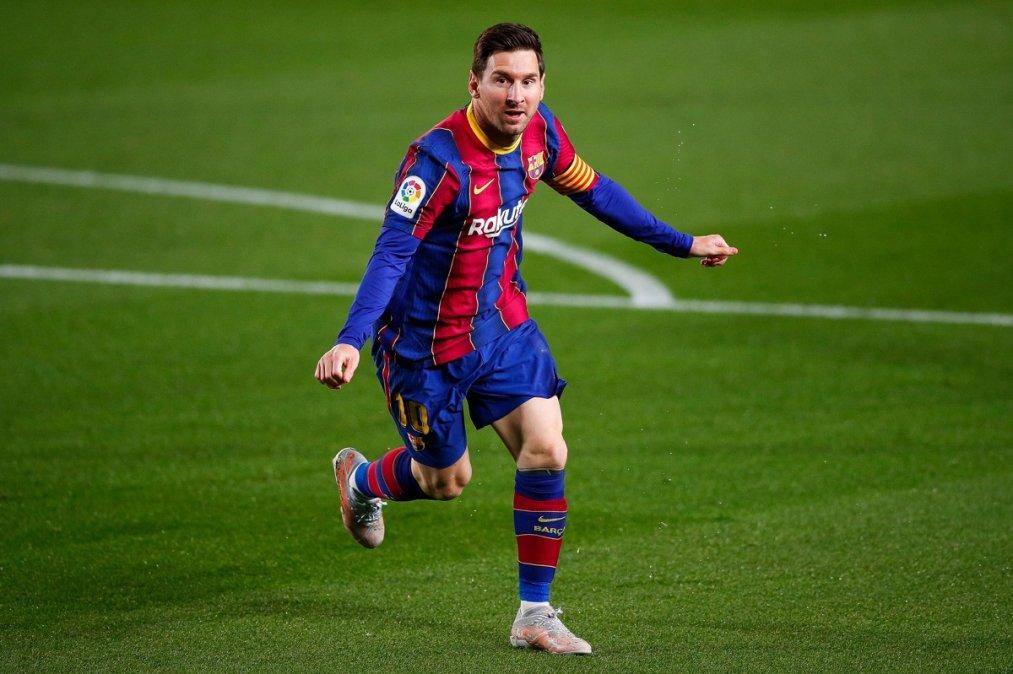 Doblete de Messi en la goleada del Barcelona al Getafe.