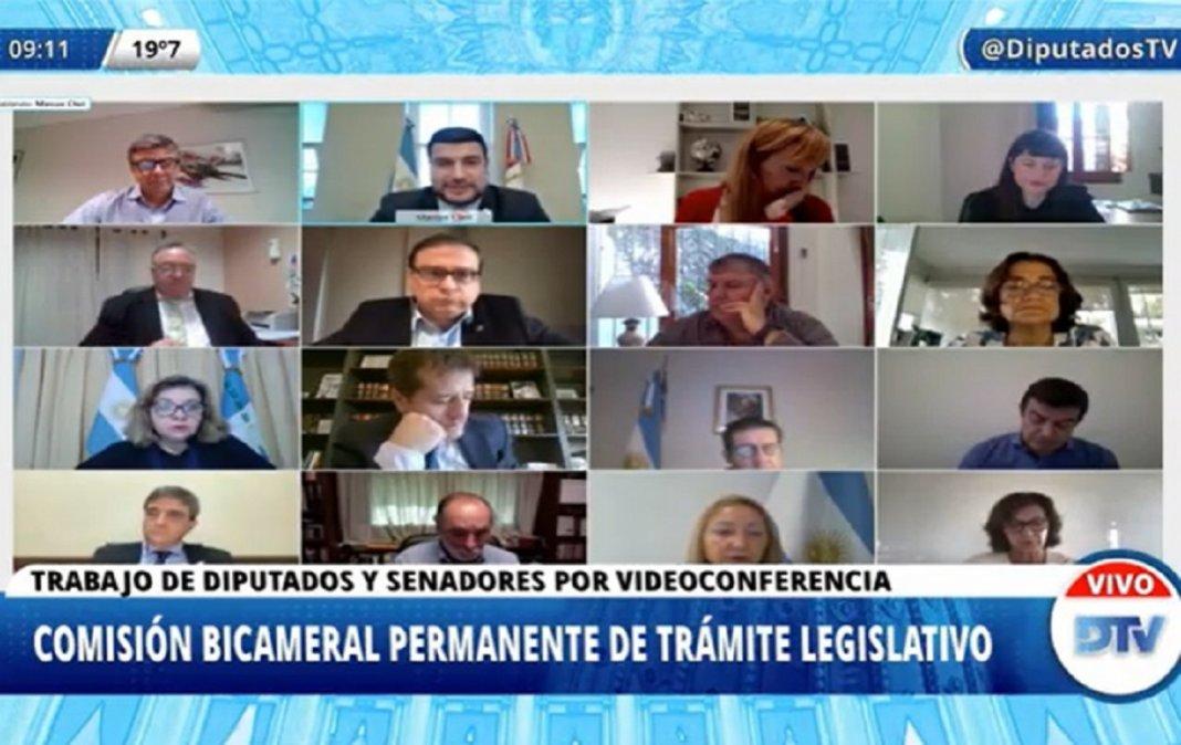 La bicameral avaló los decretos del presidente Fernández sobre restricciones en el AMBA.