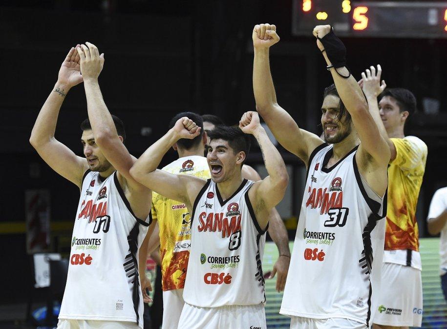 San Martín terminó sexto en la Fase Regular y se metió entre los cuatro mejores en playoffs. Foto: Marcelo Endelli.
