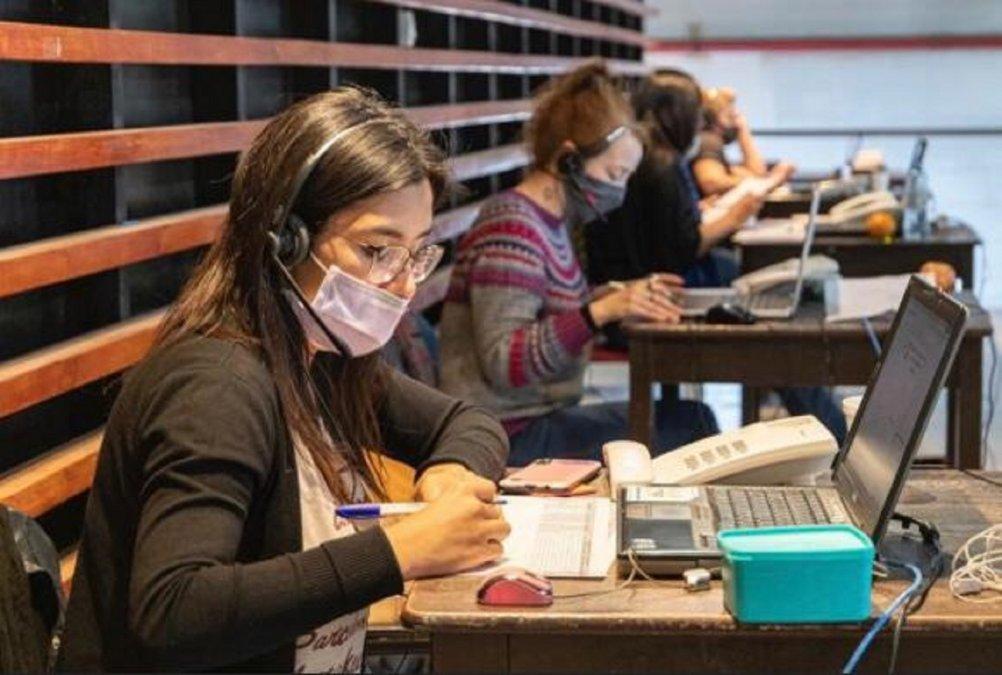 El call center covid recibe menos llamados que en 2020