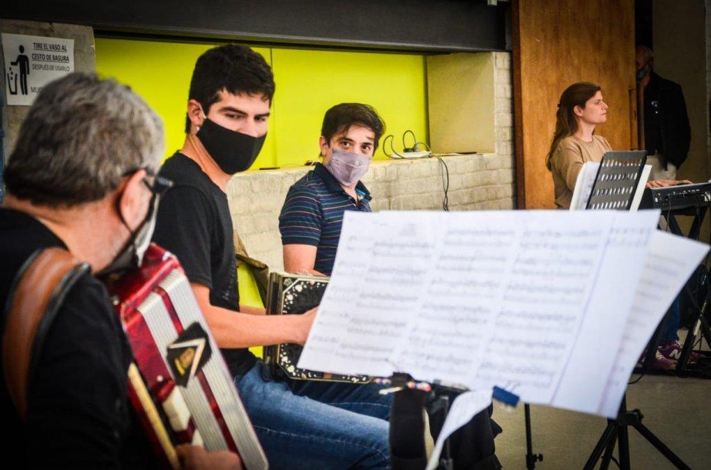 Ya comenzaron los ensayos de la Orquesta Municipal de Tango