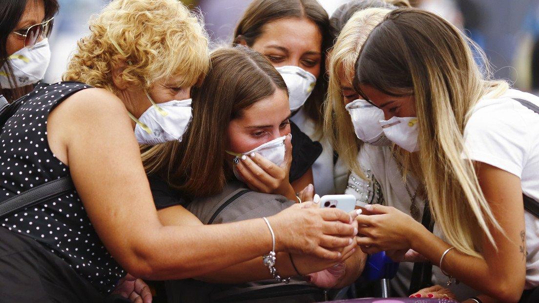 Se confirmaron este lunes 18.793 nuevos contagios y 443 muertes por coronavirus.