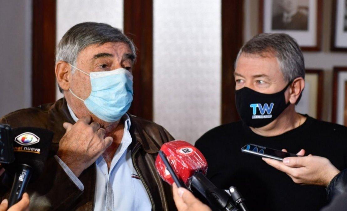 Maderna invitó a dialogar a Mario Cimadevilla