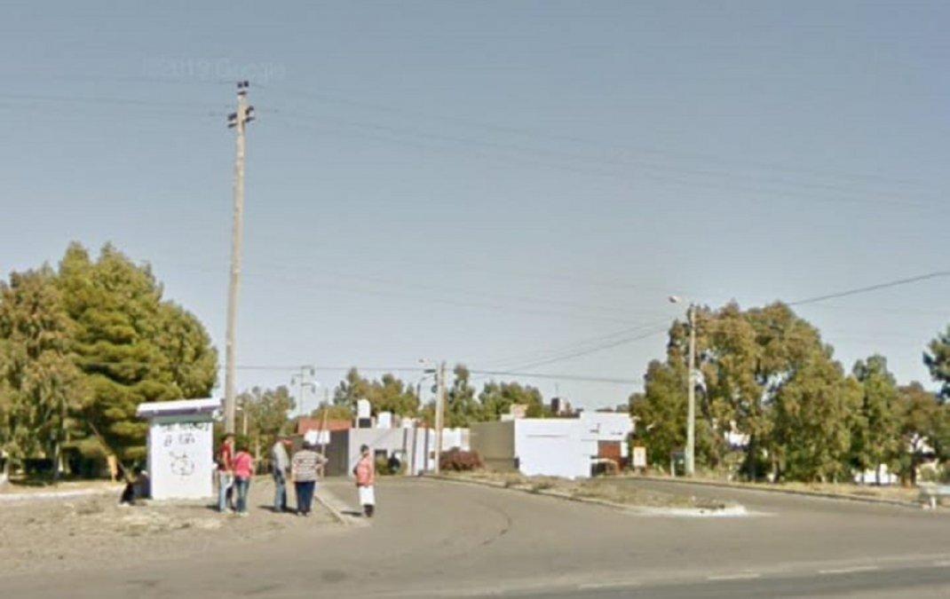 Acosaron a una mujer en Ciudadela. Foto: Google Maps.