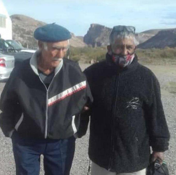 El peón que se había perdido en la Meseta regresó con su familia