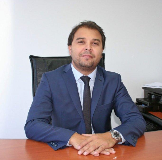Rodrigo Gaitán quedó al frente de la presidencia del Banco del Chubut.