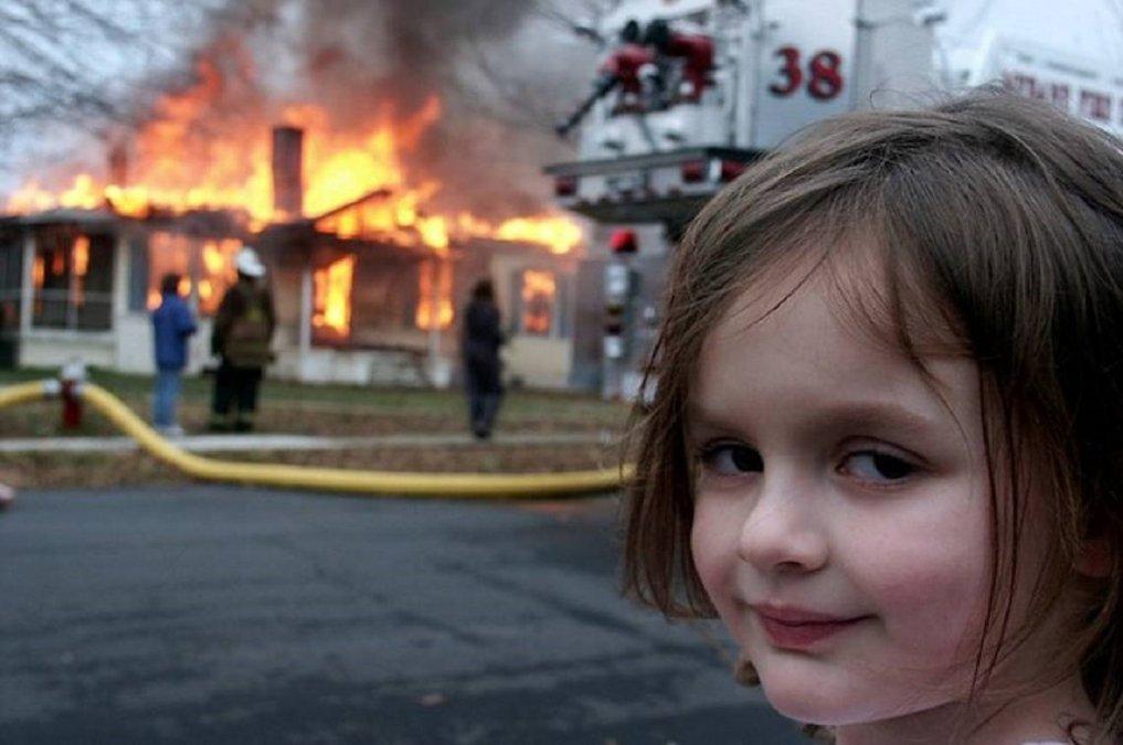 La Disaster Girl ganó casi medio millón de dólares por su meme