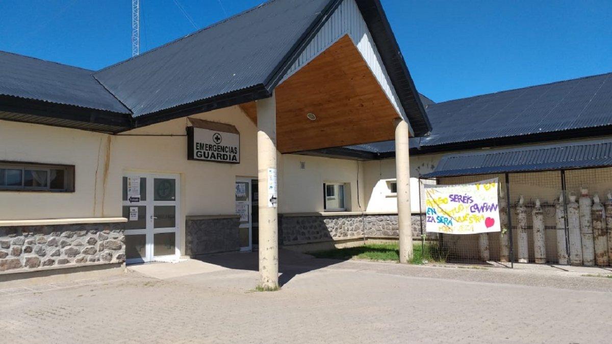 Está al 100% de pacientes Covid el área de internación del Hospital de Trevelin.