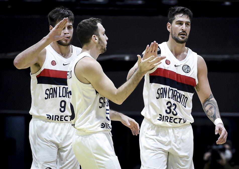 San Lorenzo le ganó a San Martín y el segundo finalista se define el domingo. Foto: Marcelo Endelli.
