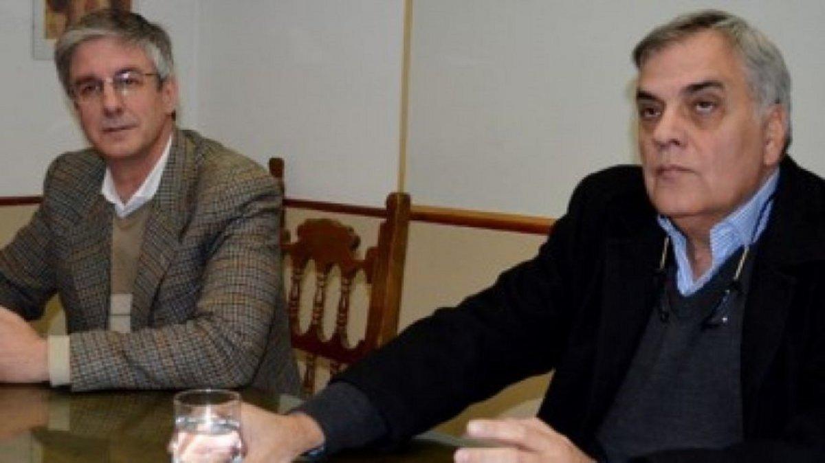 Julio Ruiz y Sergio Ongarato.