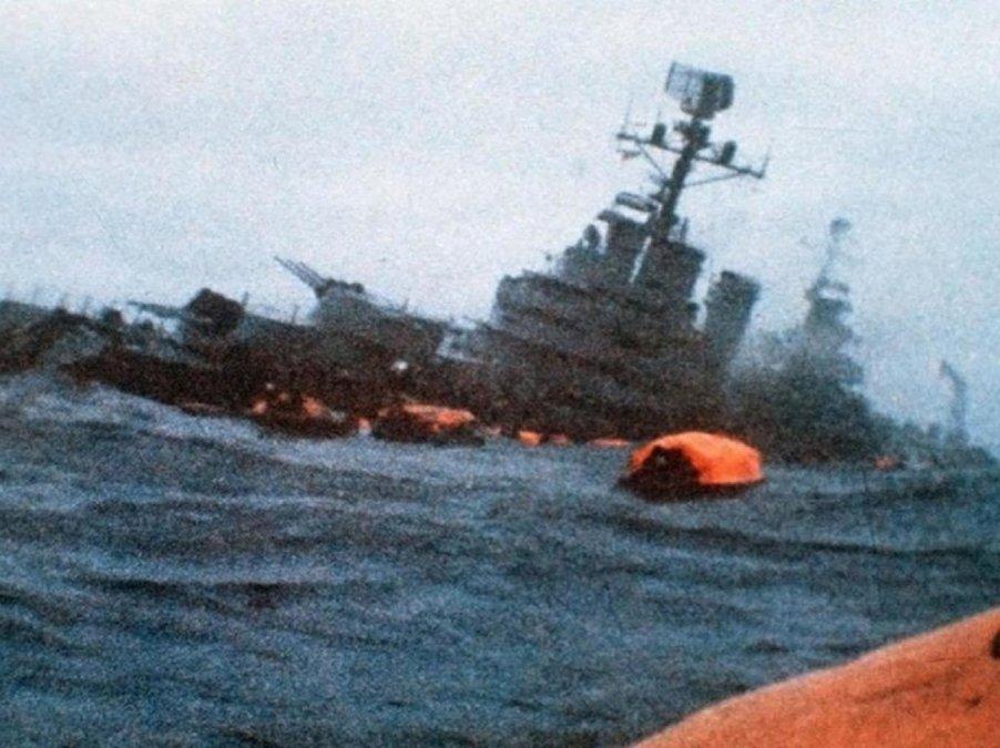 A 39 años del hundimiento del ARA General Belgrano