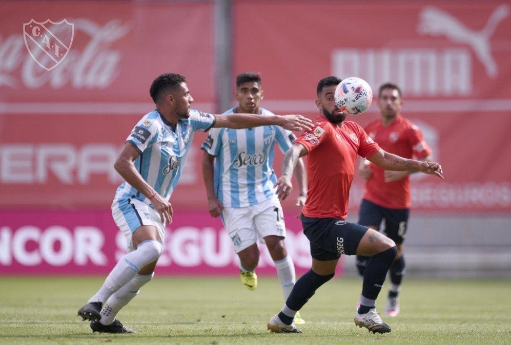 Independiente perdió 1-0 con Atlético Tucumán y quedó 5° en la Zona B de la Copa de la Liga Profesional.