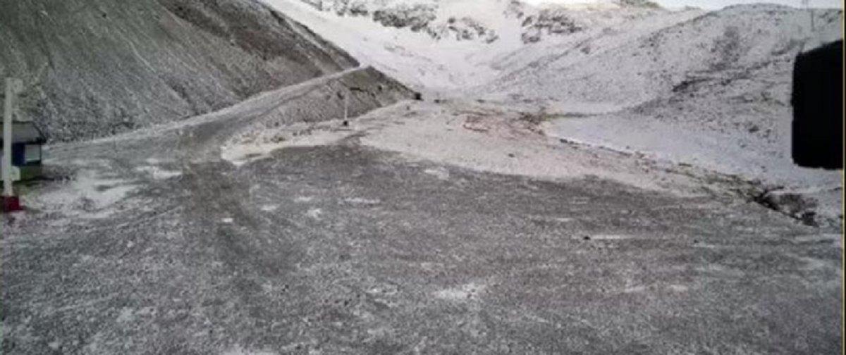 El parador más moderno de la Argentina ya se empieza a teñir de blanco para el invierno 2020