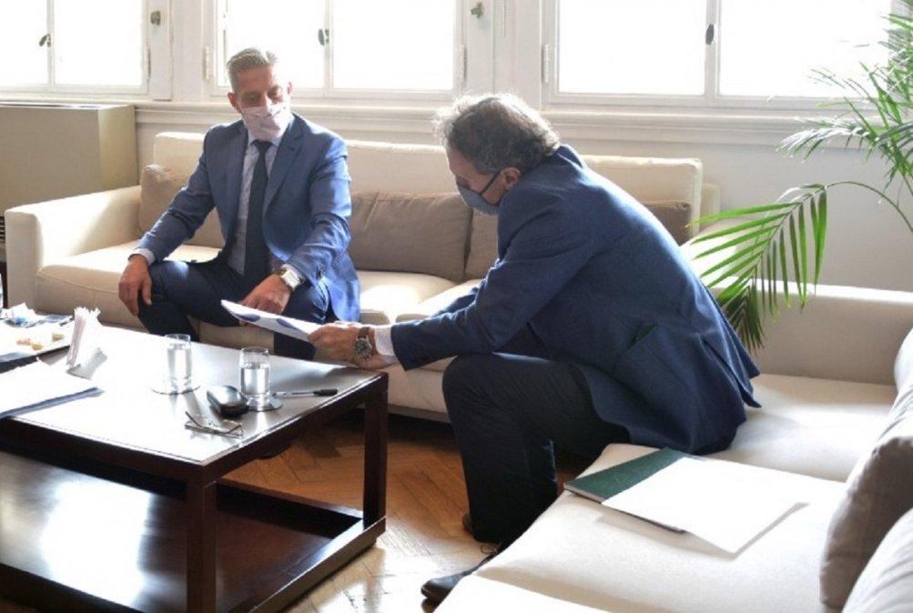 El Gobierno del Chubut y el ENOHSA firmaron un convenio para la ampliación de la Planta Potabilizadora N°1 de Trelew