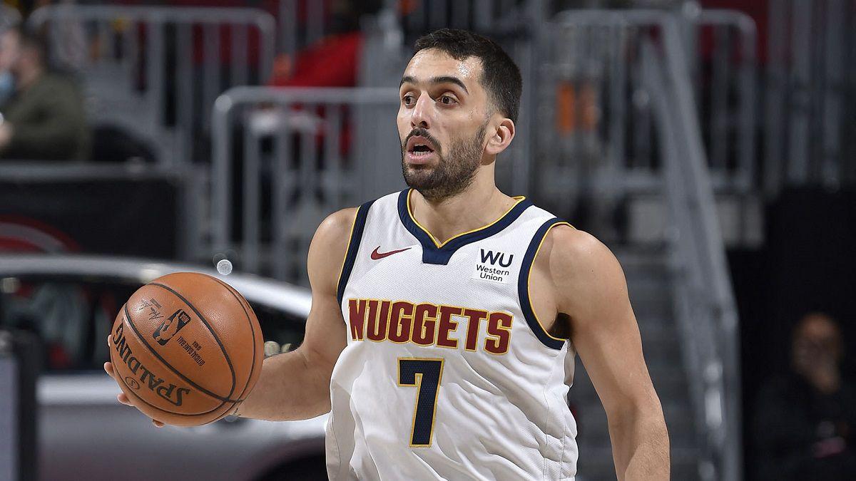 Campazzo se clasificó a los playoffs de la NBA con Denver Nuggets