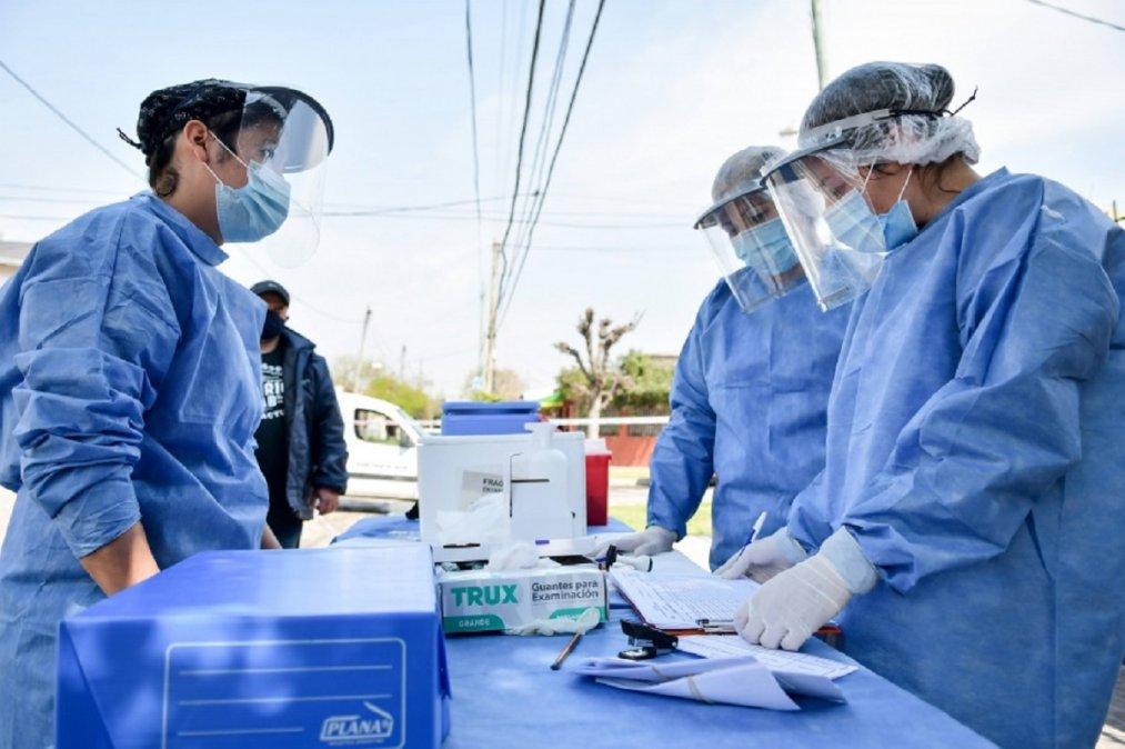 Chubut tiene hasta el momento 1.014 decesos a causa del virus.