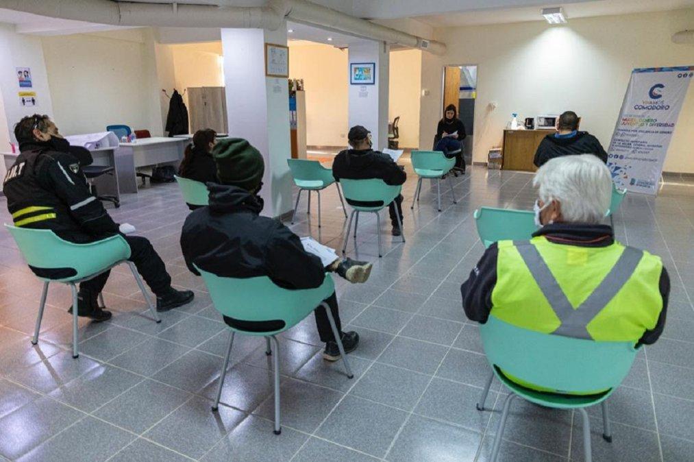Nueva capacitación en género a trabajadores de Tránsito Municipal