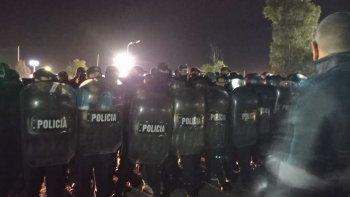 Federico Massoni declaró que Gendarmería desoyo la orden del juez federal y la respuesta del ministerio de Seguridad de Nación no se hizo esperar.