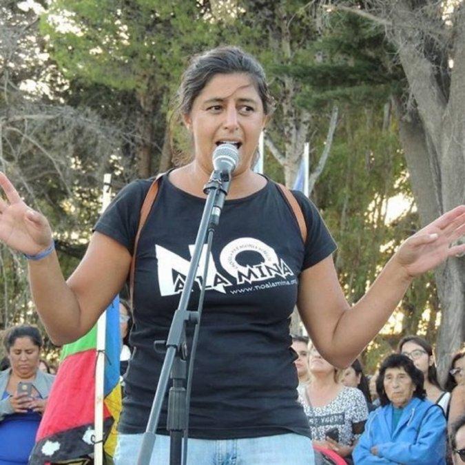 La abogada Silvia de los Santos le contestó a Gustavo Sastre tras los incidentes frente a la casa del Vicegobernador Ricardo Sastre.