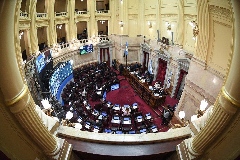 Honorable Senado de la Nación Argentina. (Imagen ilustrativa).
