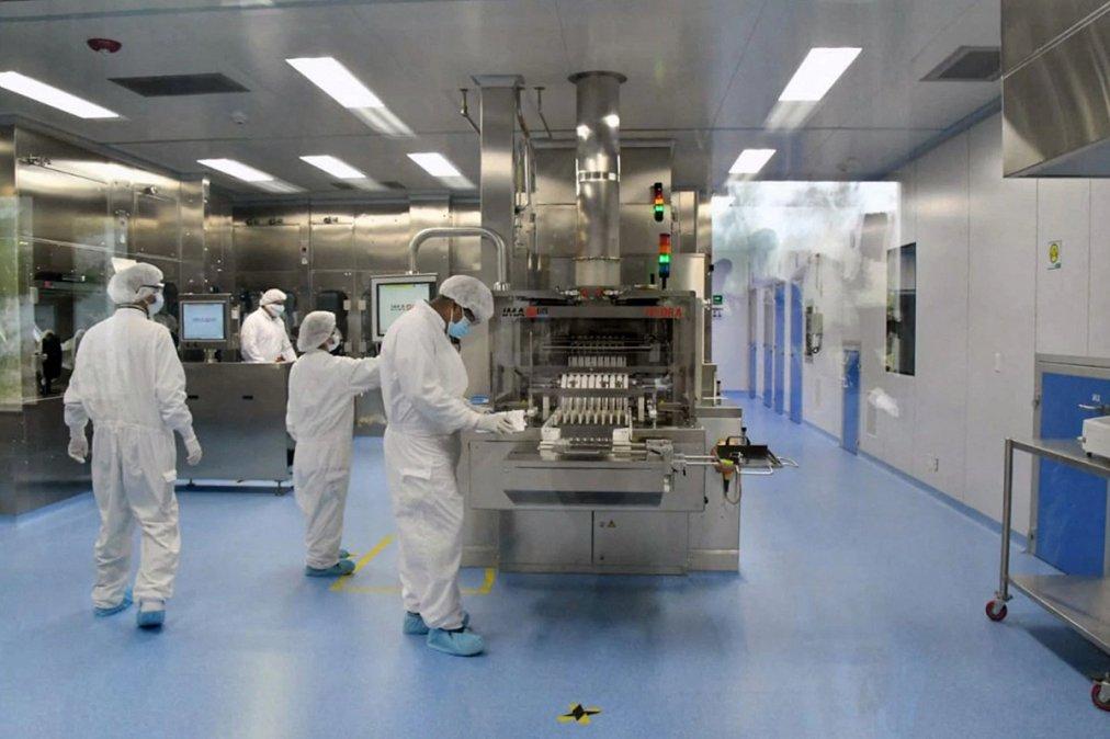 Interior del laboratorio mexicano Liomont