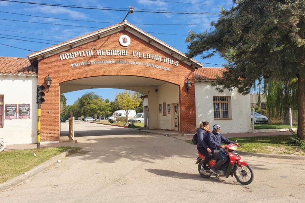 Una beba de 18 días habría muerto por coronavirus en el Hospital Regional de Villa Dolores.