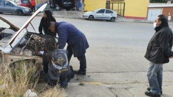 La policía secuestró más de 3 millones de pesos en autopartes.